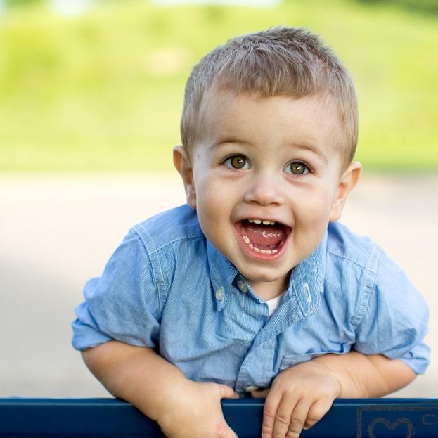 Zęby dziecka – kolejność wyrzynania się
