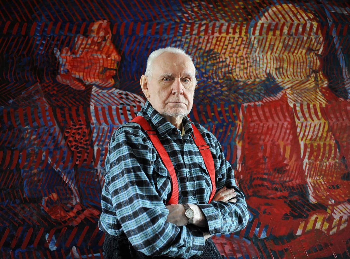 Wojciech Fangor Zdjęcie NaTle Obrazu