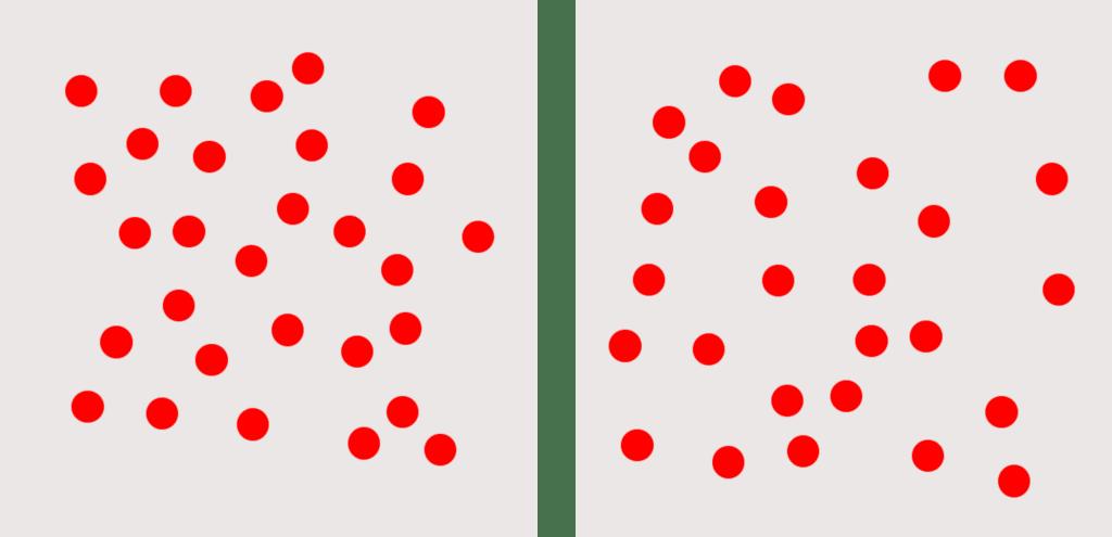 matematyka metoda Domana karty zczerwonymi kropkami