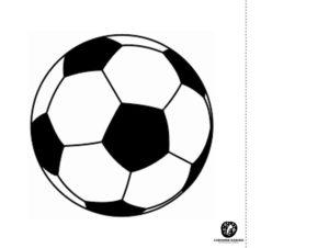 kontrastowe karty dla niemowląt dopobrania piłka nożna