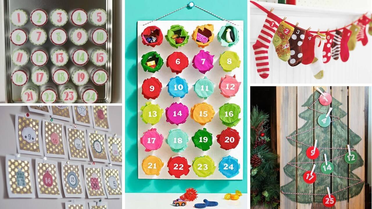 Kalendarz Adwentowy Dla Dzieci DIY Robiony Ręcznie Dla Dziecka Rocznego Dwulatka Przedszkolaka