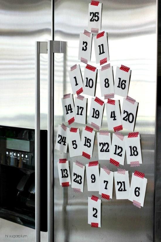 kalendarz adwentowy najłatwiejszy