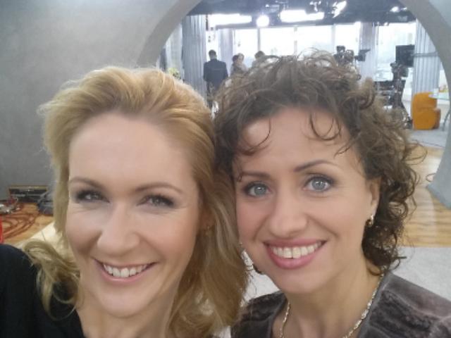 Dr Aneta Czerska z Małgosią Ohme, psychologiem – 17.12.2015