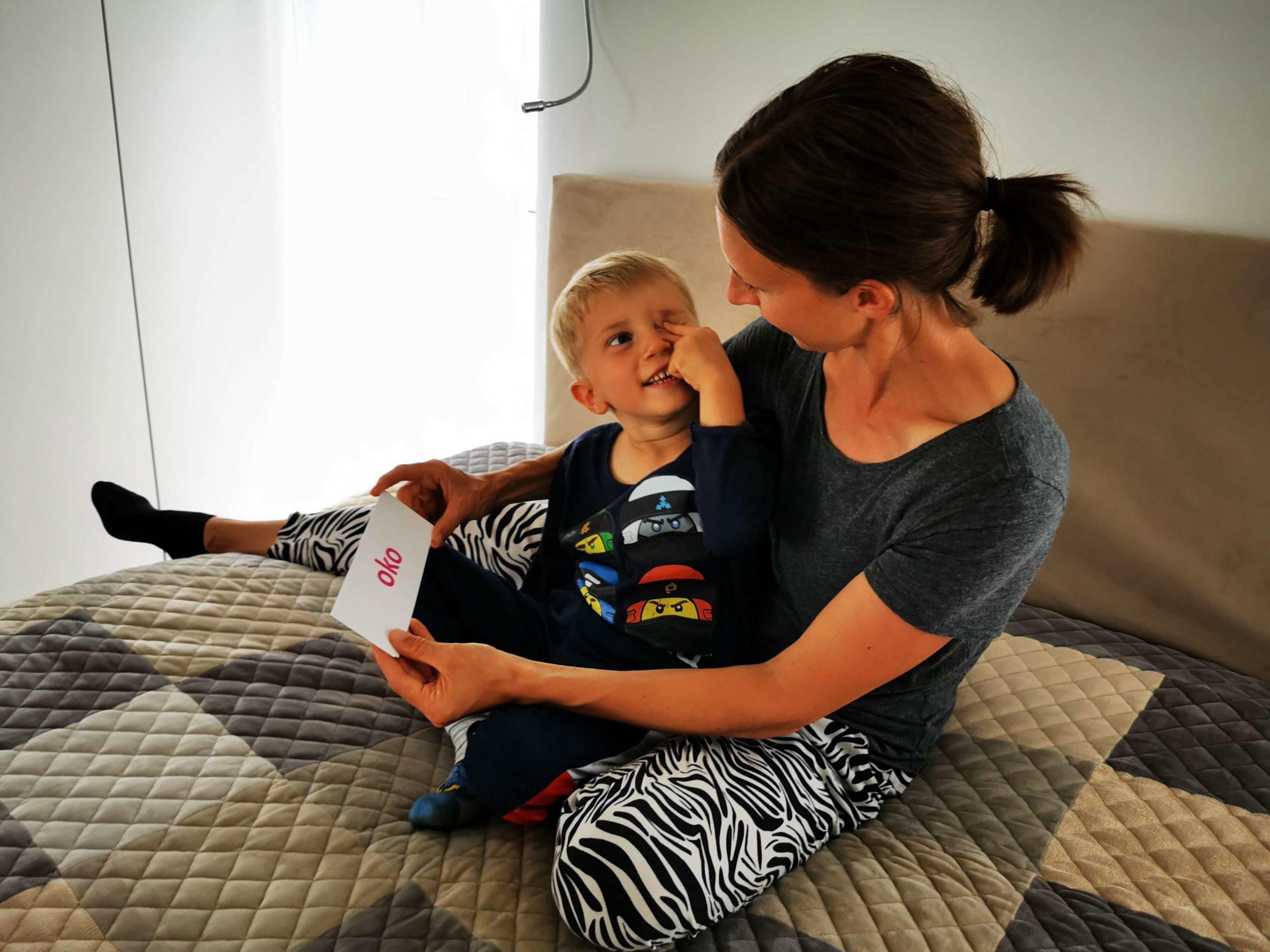 Jak Nauczyć Dziecko Czytać Czytanie Globalne Karty Sylaby Litery Edukacja domowa