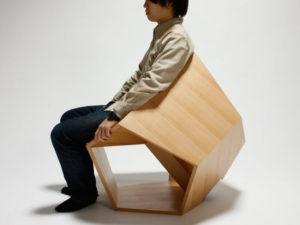 Dwunastościan fotel
