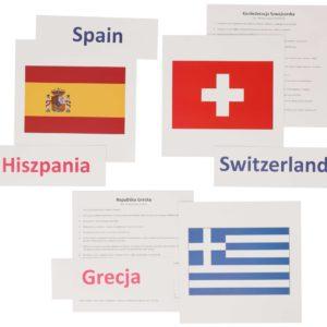 bity inteligencji flagi państwa europejskie metoda Domana drCzerska
