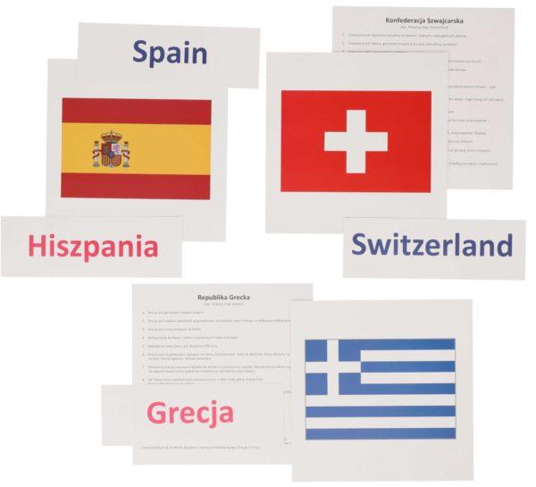 bity inteligencji flagi państwa europejskie metoda Domana dr Czerska
