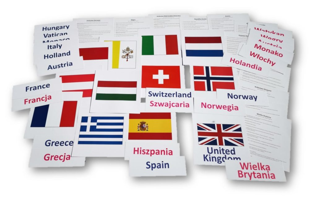 bity inteligencji zestaw 5 kraje europejskie drCzerska