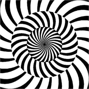 kontrastowe czarno-białe karty dostymulacji wzroku dla niemowląt iluzje optyczne