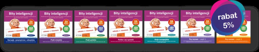 promocja bity inteligencji 7 zestawów