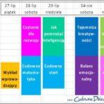 Wydarzenia dla rodziców 27-29 lipca i4-5 sierpnia