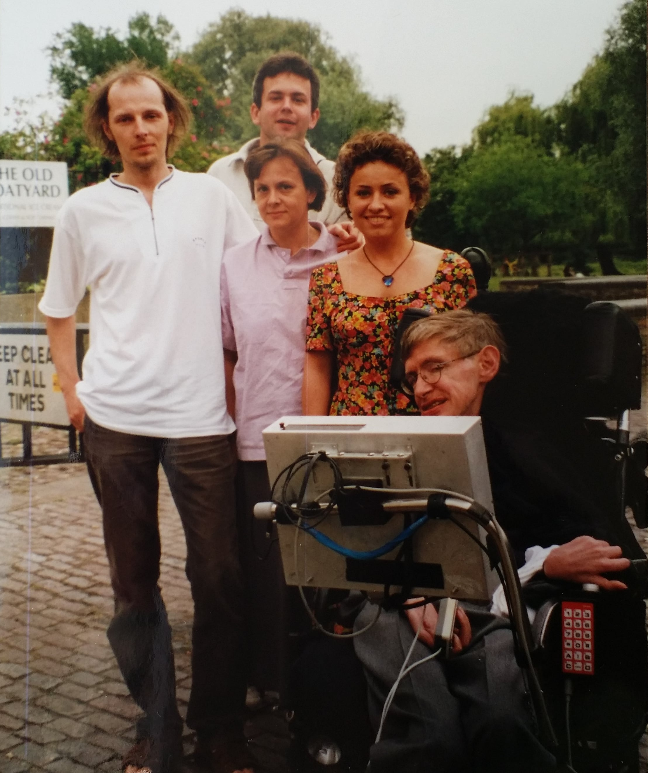 Aneta Czerska Stephen Hawking Cambridge