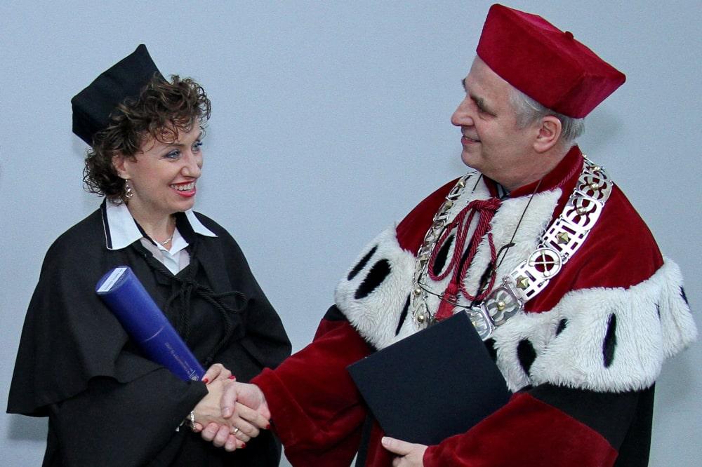 Dr Aneta Czerska Rektor Mirosław Nakonieczny 4.11.2014