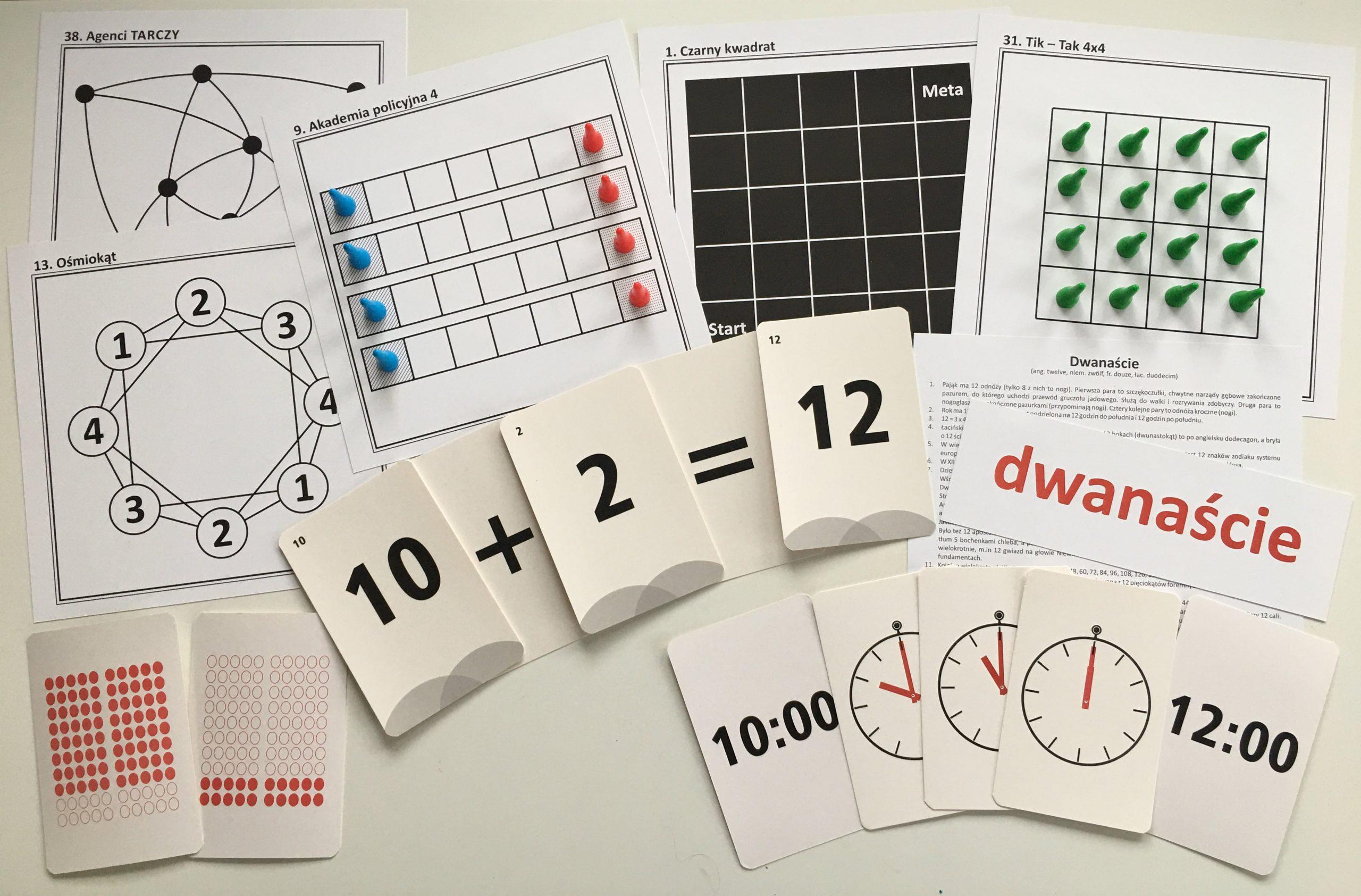 Zabawy Matematyczne  Dla Dzieci Gry Planszowe Strategiczne