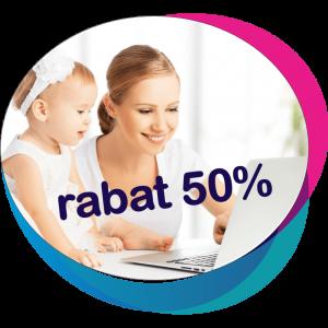 Opieka Roczna Online rabat 50 procent