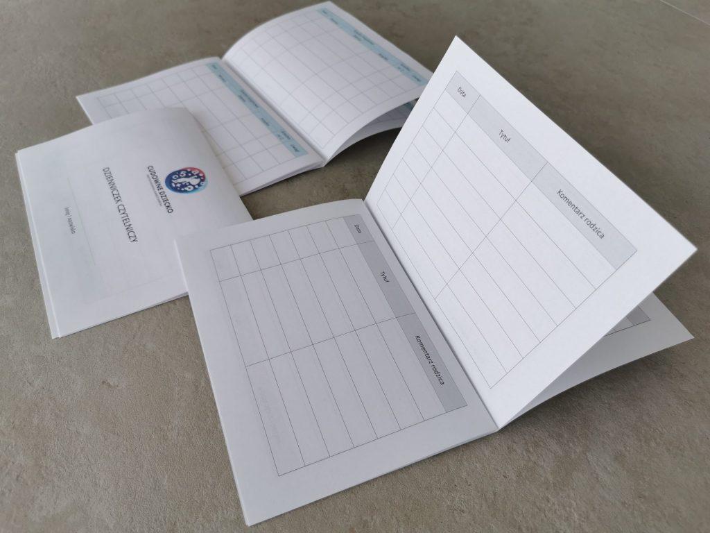 Karty Codziennego Czytania DoWydruku Dzienniczek Czytelniczy Dla Ucznia Dla Przedszkolaka