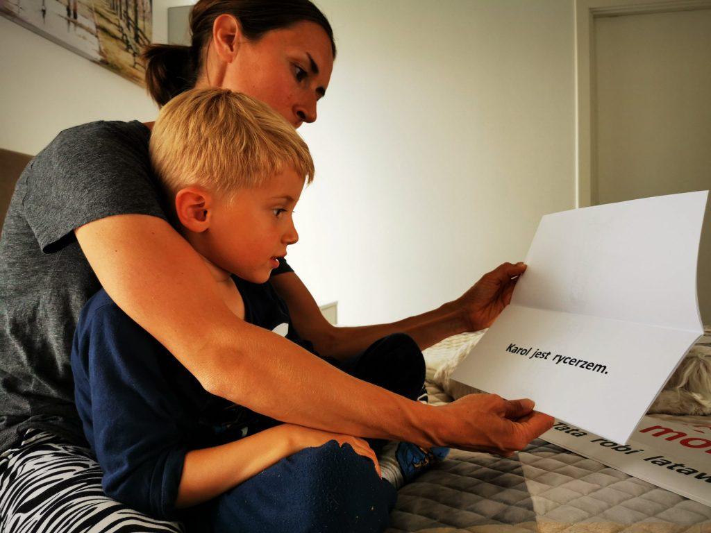 Karty DoNauki Czytania Metoda Domana czytanie globalne Matka Przedszkolak Książeczka Karty DrCzerska Cudowne Dziecko
