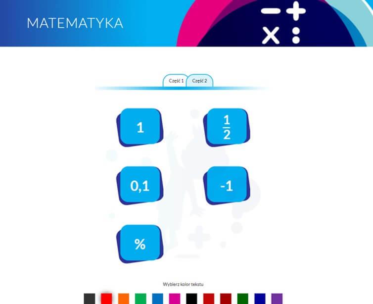 Program Komputerowy DoNauki Matematyki Aplikacja Cudowna Matematyka Jak Nauczyć Dziecko Liczyć Dodawanie Odejmowanie Mnożenie Dzielenie